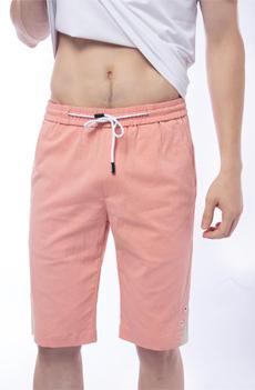 粉色男士短裤